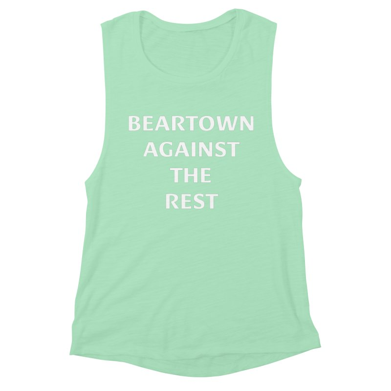 Beartown Against The Rest (Version 2) Women's Muscle Tank by Hadeda Creative's Artist Shop