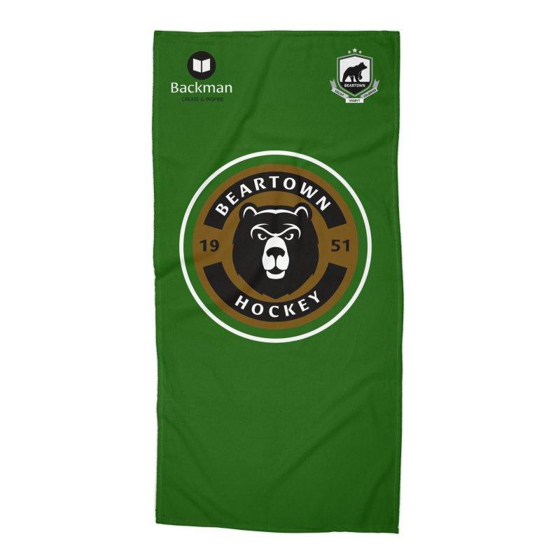 Beartown Hockey Jersey Accessories Beach Towel by Hadeda Creative's Artist Shop