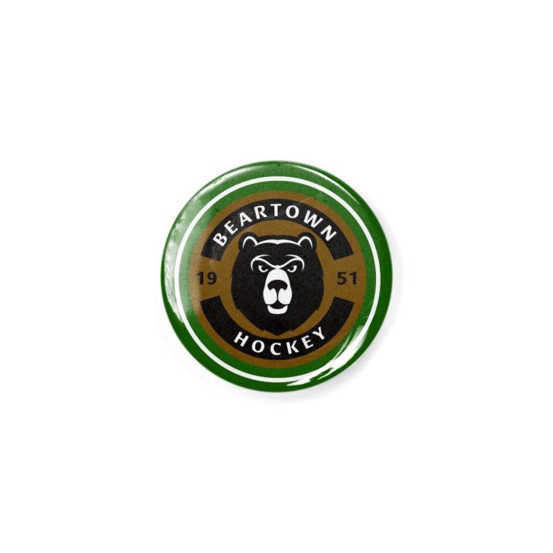 Beartown Hockey Jersey Accessories Button by Hadeda Creative's Artist Shop