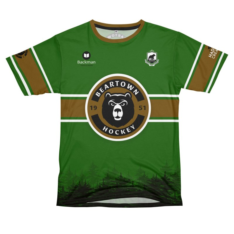 Beartown Hockey Jersey Men's T-Shirt Cut & Sew by Hadeda Creative's Artist Shop