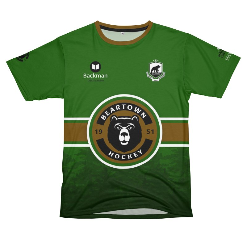 Beartown Hockey Jersey Women's Cut & Sew by Hadeda Creative's Artist Shop