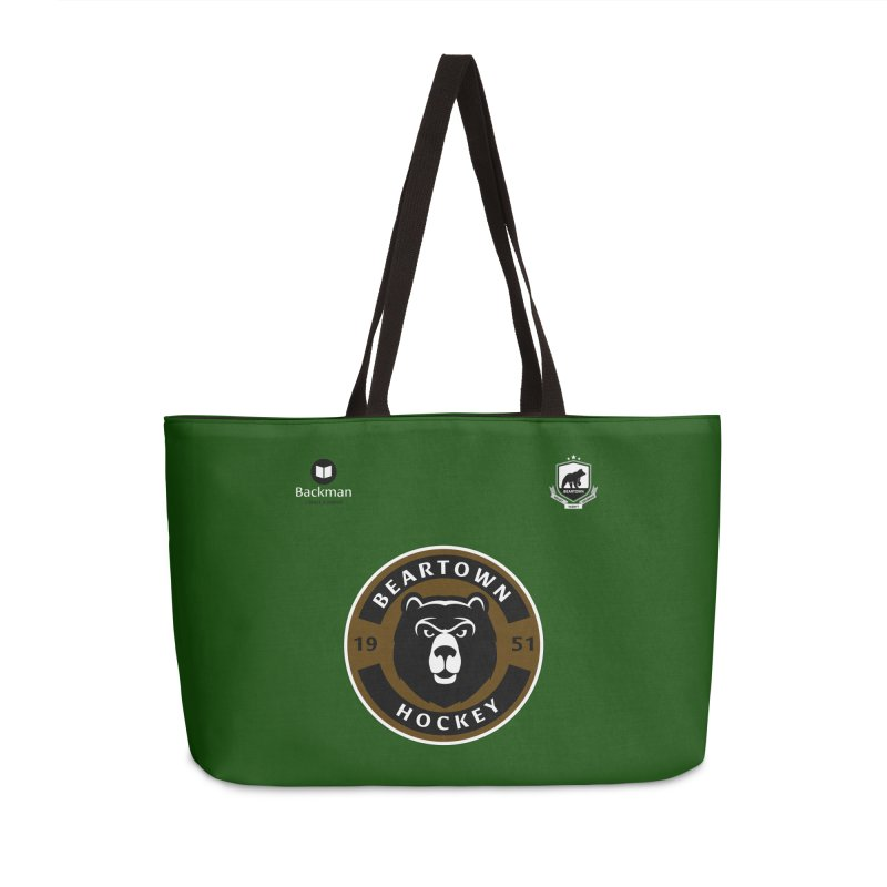 Beartown Hockey Jersey Accessories Weekender Bag Bag by Hadeda Creative's Artist Shop