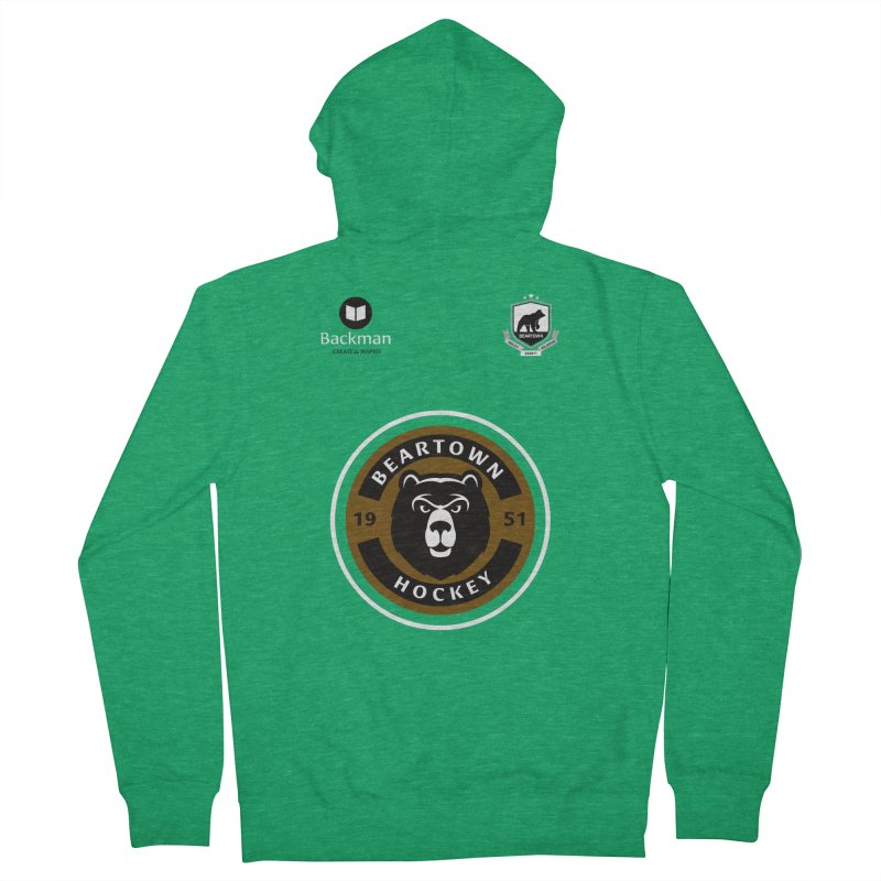 Beartown Hockey Jersey Men's Zip-Up Hoody by Hadeda Creative's Artist Shop