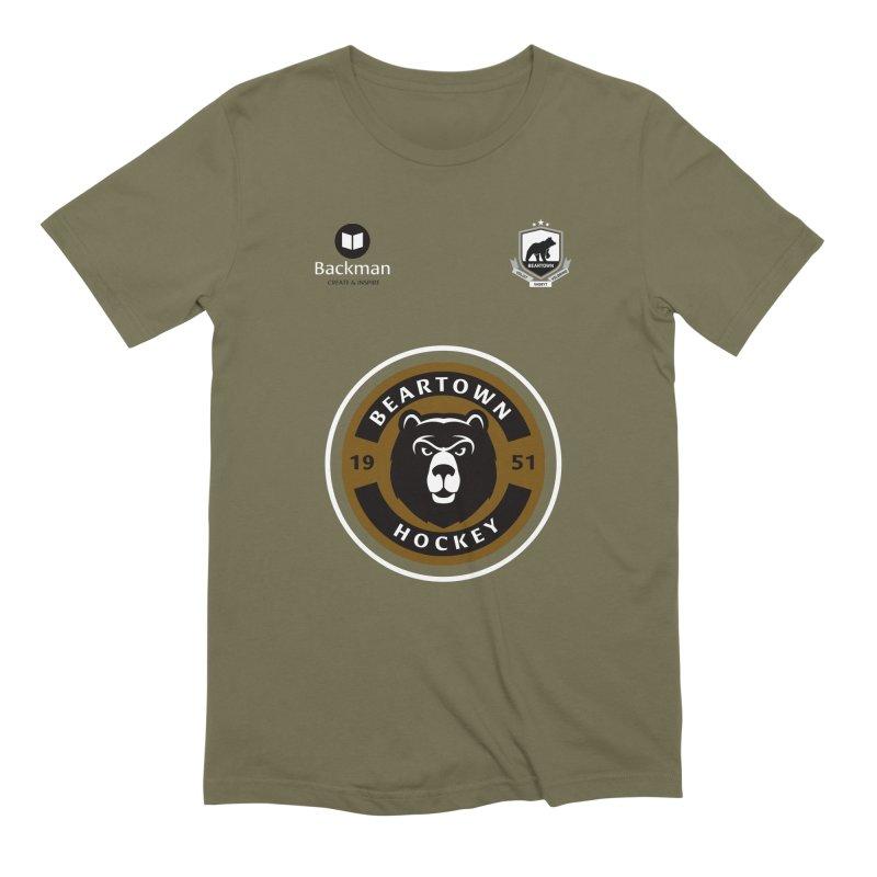 Beartown Hockey Jersey Men's T-Shirt by Hadeda Creative's Artist Shop
