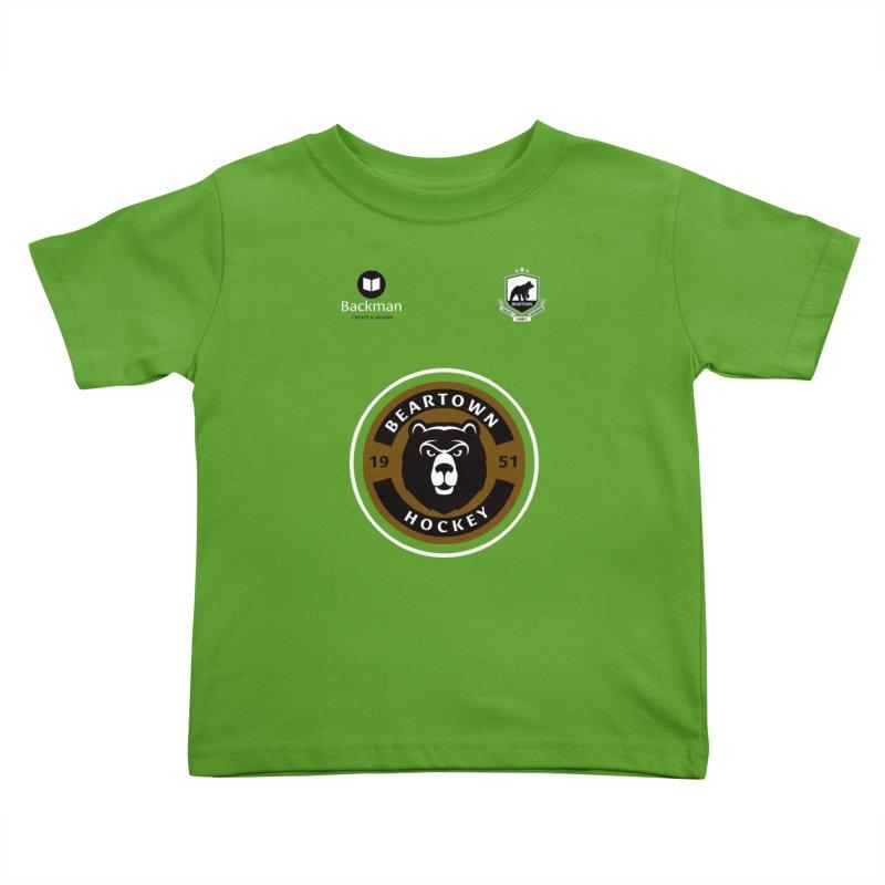 Beartown Hockey Jersey Kids Toddler T-Shirt by Hadeda Creative's Artist Shop