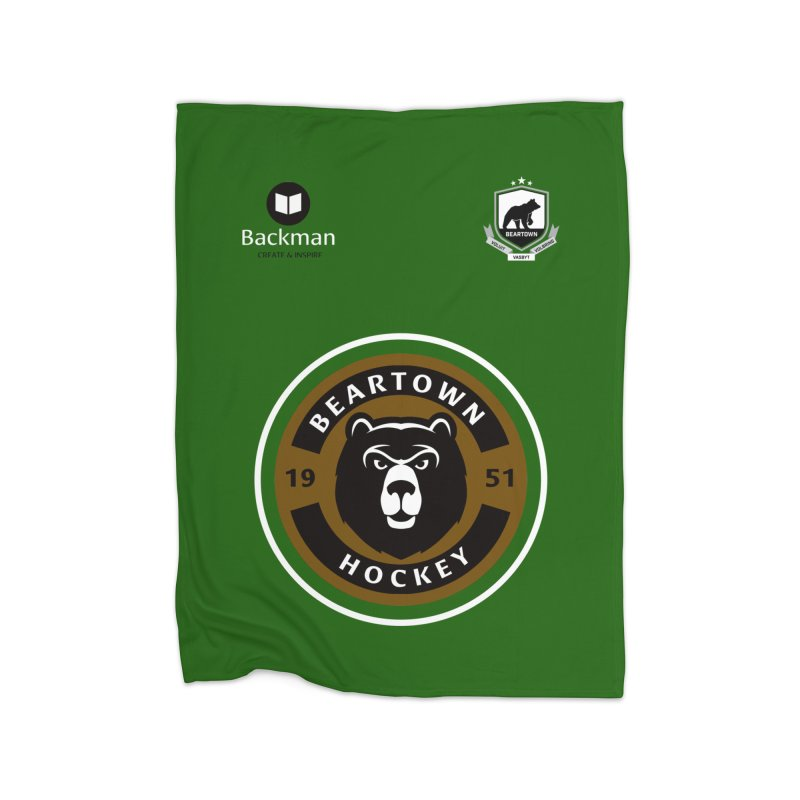 Beartown Hockey Jersey Home Blanket by Hadeda Creative's Artist Shop