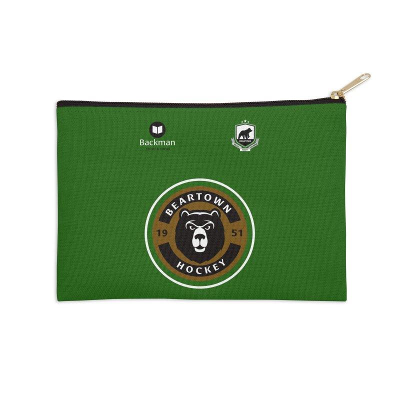 Beartown Hockey Jersey Accessories Zip Pouch by Hadeda Creative's Artist Shop