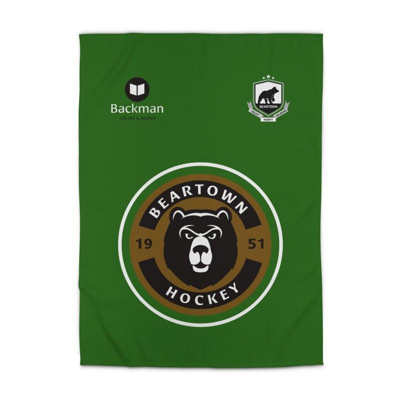Beartown Hockey Jersey Home Rug by Hadeda Creative's Artist Shop
