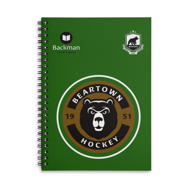 Beartown Hockey Jersey Accessories Notebook by Hadeda Creative's Artist Shop