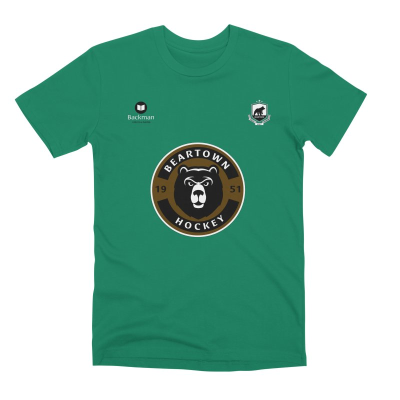 Beartown Hockey Jersey Men's Premium T-Shirt by Hadeda Creative's Artist Shop