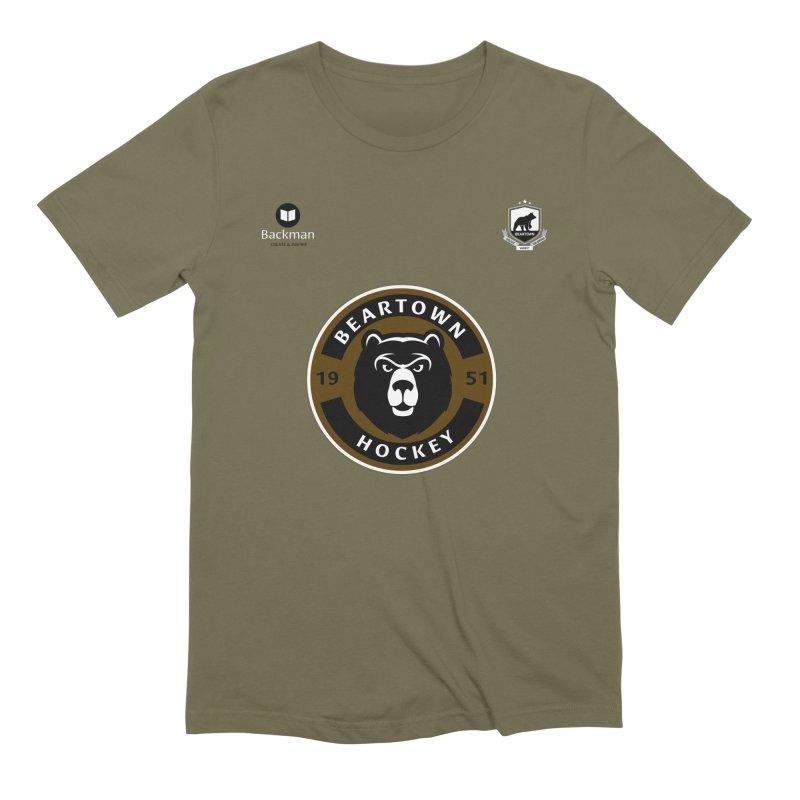 Beartown Hockey Jersey Men's Extra Soft T-Shirt by Hadeda Creative's Artist Shop