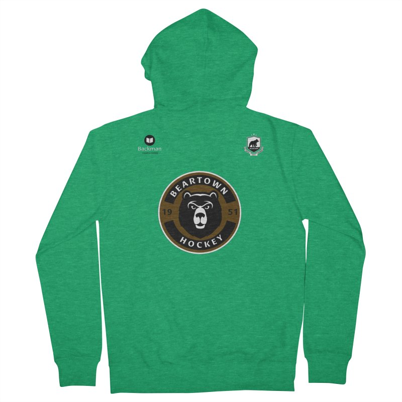 Beartown Hockey Jersey Men's French Terry Zip-Up Hoody by Hadeda Creative's Artist Shop