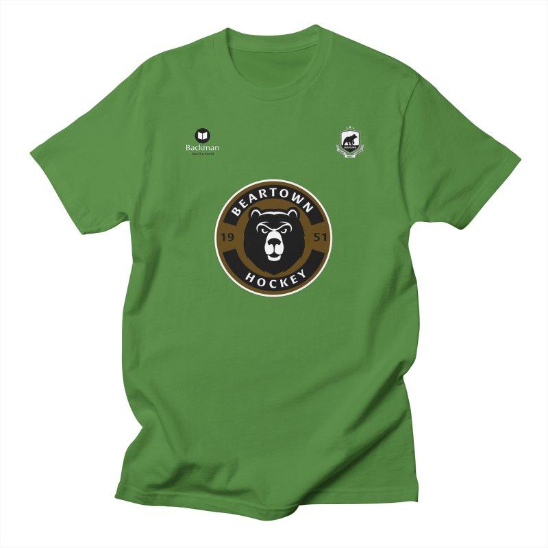 Beartown Hockey Jersey Men's Regular T-Shirt by Hadeda Creative's Artist Shop