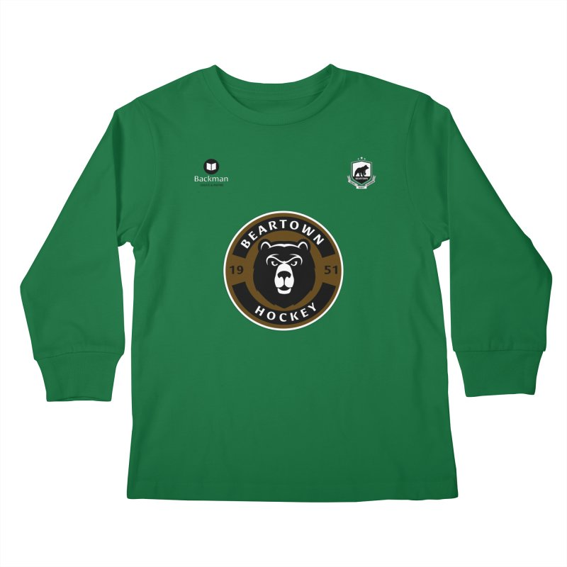 Beartown Hockey Jersey Kids Longsleeve T-Shirt by Hadeda Creative's Artist Shop