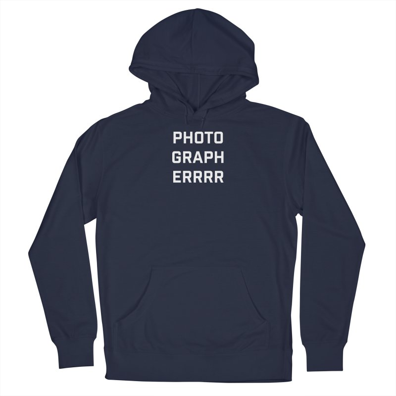 Photographerrr Men's Pullover Hoody by Hadeda Creative's Artist Shop