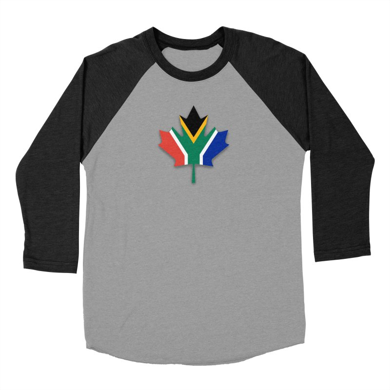 SA Maple Women's Baseball Triblend Longsleeve T-Shirt by Hadeda Creative's Artist Shop