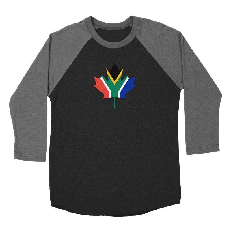 SA Maple Men's Baseball Triblend Longsleeve T-Shirt by Hadeda Creative's Artist Shop