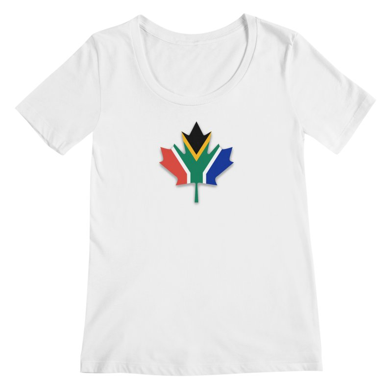 SA Maple Women's Regular Scoop Neck by Hadeda Creative's Artist Shop