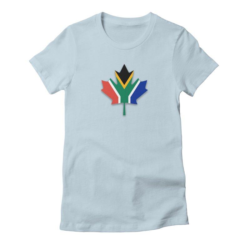 SA Maple Women's T-Shirt by Hadeda Creative's Artist Shop