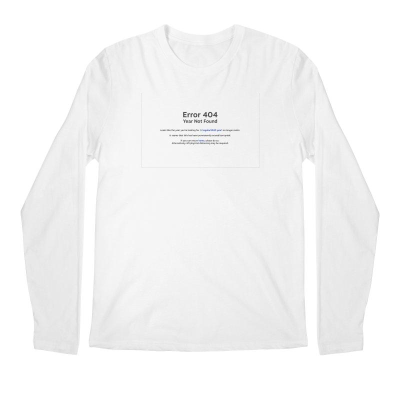 Error 404 Men's Longsleeve T-Shirt by Hadeda Creative's Artist Shop