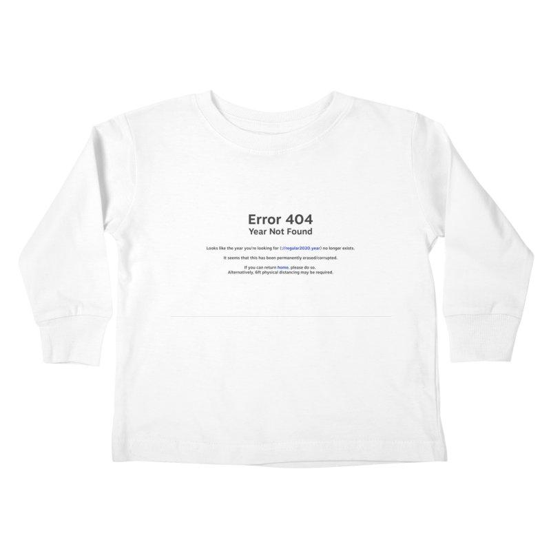 Error 404 Kids Toddler Longsleeve T-Shirt by Hadeda Creative's Artist Shop