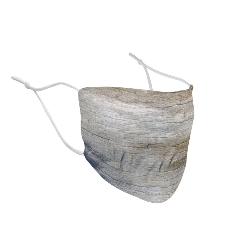 Wood Texture #3 Accessories Face Mask by Hadeda Creative's Artist Shop