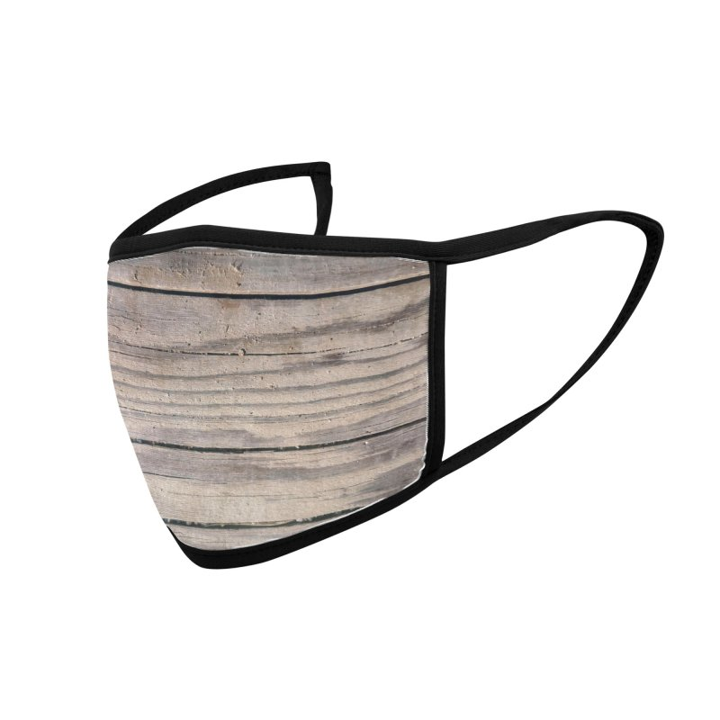 Wood Texture #4 Accessories Face Mask by Hadeda Creative's Artist Shop
