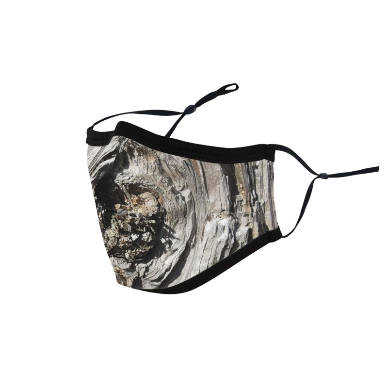 Wood Texture #5 Accessories Face Mask by Hadeda Creative's Artist Shop