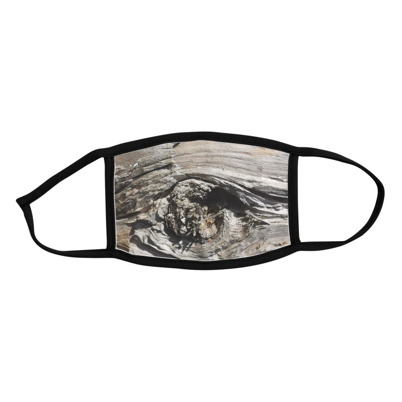 Wood Texture #6 Accessories Face Mask by Hadeda Creative's Artist Shop