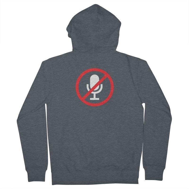 Mute #1 Men's Zip-Up Hoody by Hadeda Creative's Artist Shop