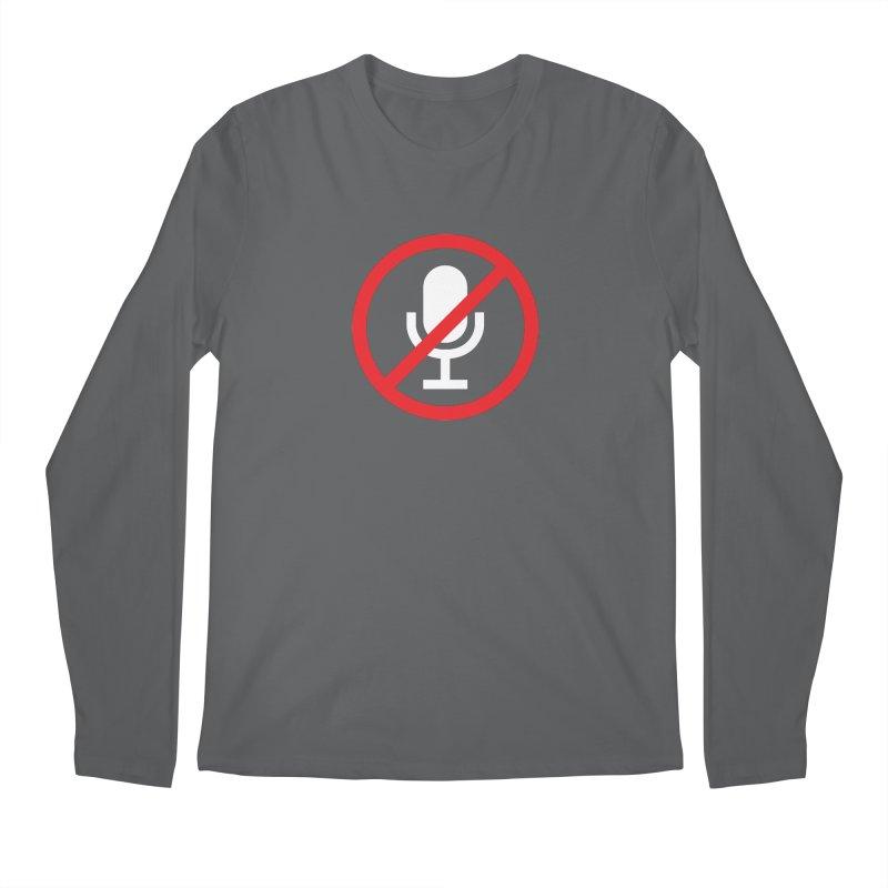 Mute #1 Men's Longsleeve T-Shirt by Hadeda Creative's Artist Shop