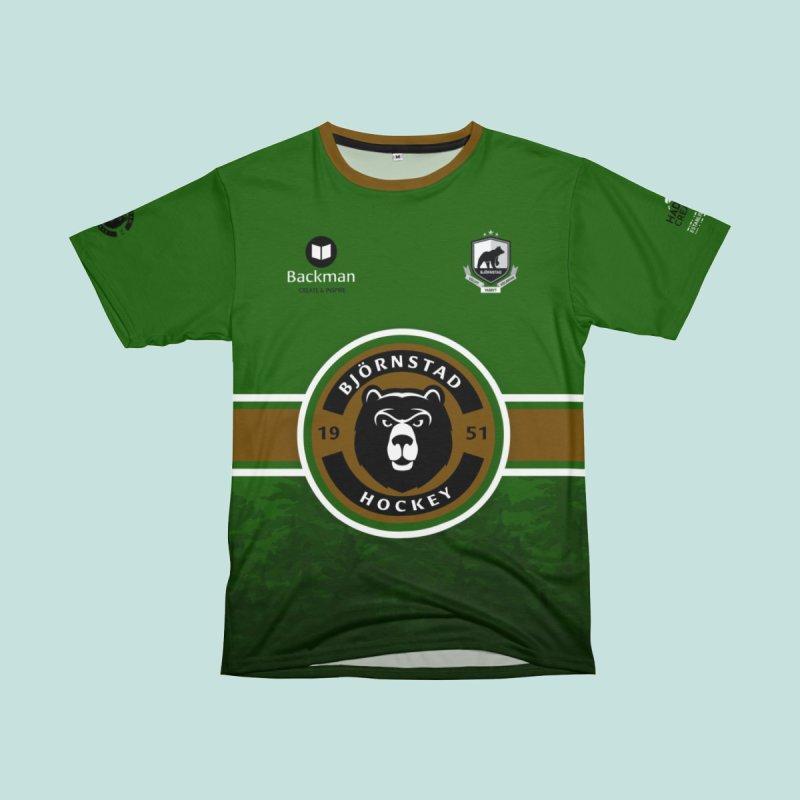 "Björnstad Hockey Sublimated ""Jersey"" Men's Cut & Sew by Hadeda Creative's Artist Shop"