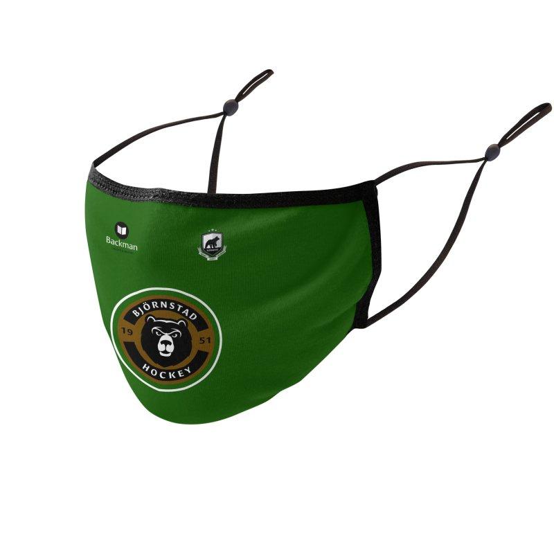 Björnstad Hockey Jersey Accessories Face Mask by Hadeda Creative's Artist Shop