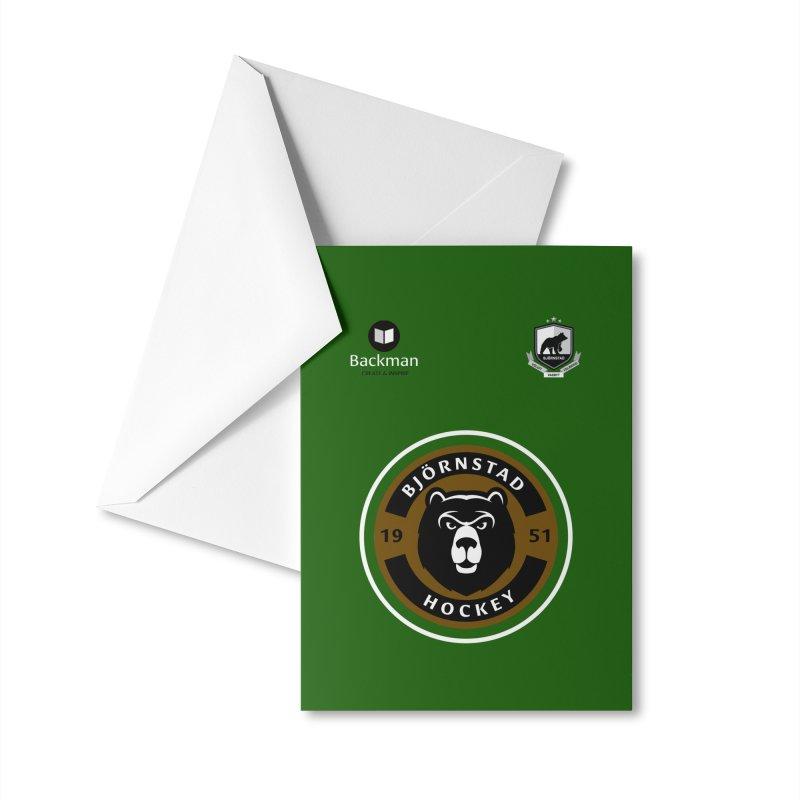Björnstad Hockey Jersey Accessories Greeting Card by Hadeda Creative's Artist Shop