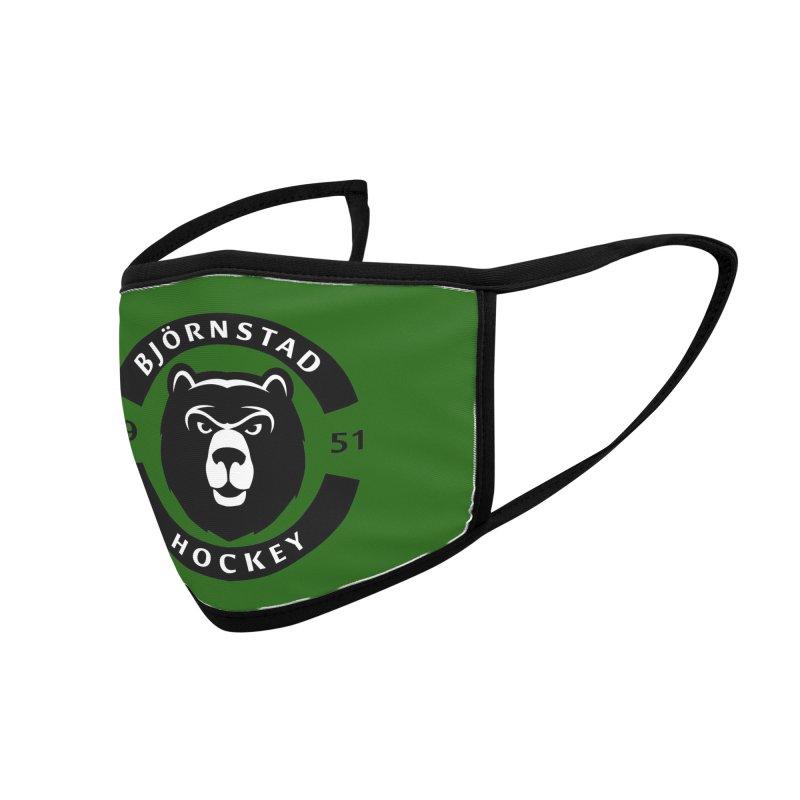 Björnstad Hockey Accessories Face Mask by Hadeda Creative's Artist Shop