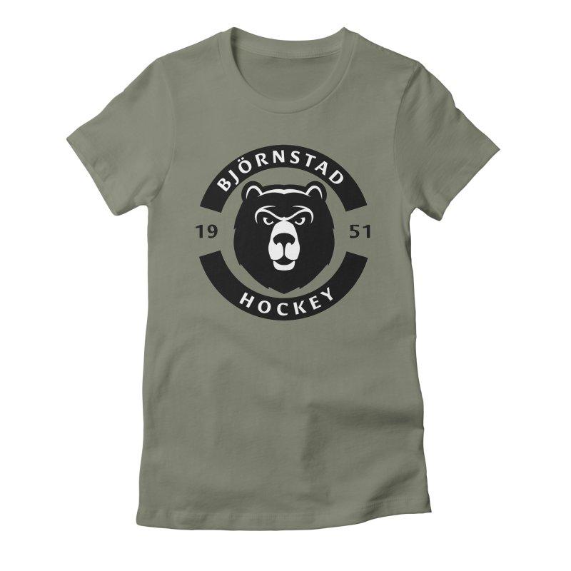 Björnstad Hockey Women's T-Shirt by Hadeda Creative's Artist Shop