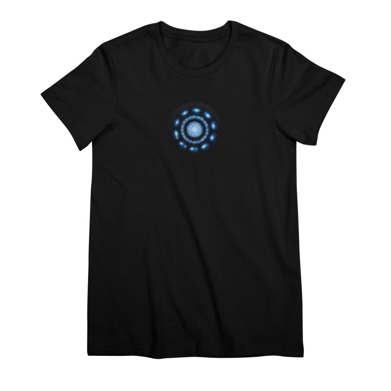 Arc Reactor Women's Premium T-Shirt by Hadeda Creative's Artist Shop