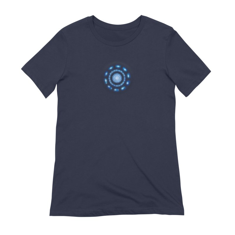 Arc Reactor Women's Extra Soft T-Shirt by Hadeda Creative's Artist Shop