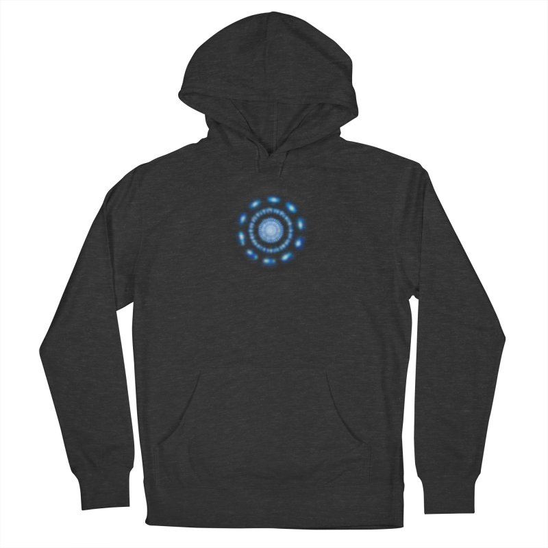 Arc Reactor Men's French Terry Pullover Hoody by Hadeda Creative's Artist Shop