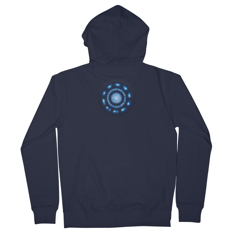 Arc Reactor Women's French Terry Zip-Up Hoody by Hadeda Creative's Artist Shop