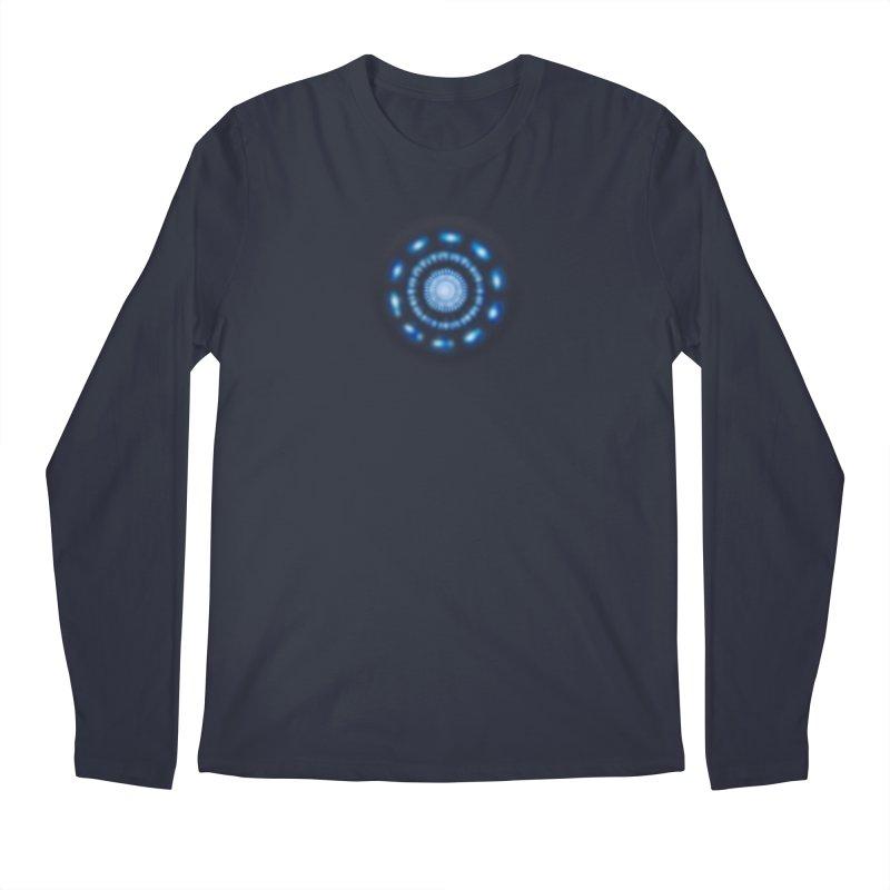 Arc Reactor Men's Longsleeve T-Shirt by Hadeda Creative's Artist Shop
