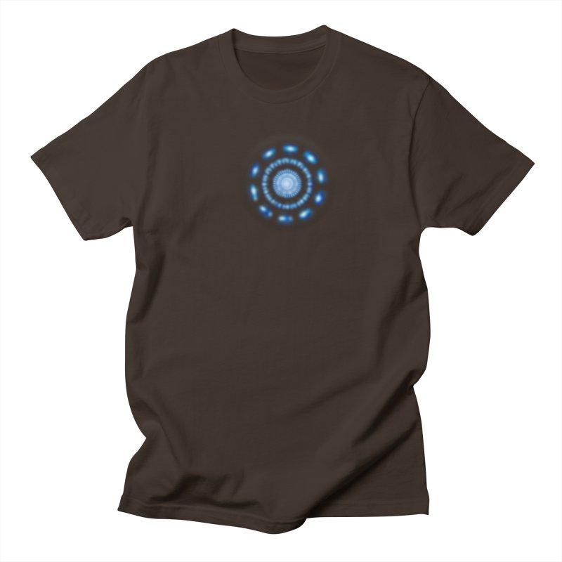 Arc Reactor Men's Regular T-Shirt by Hadeda Creative's Artist Shop
