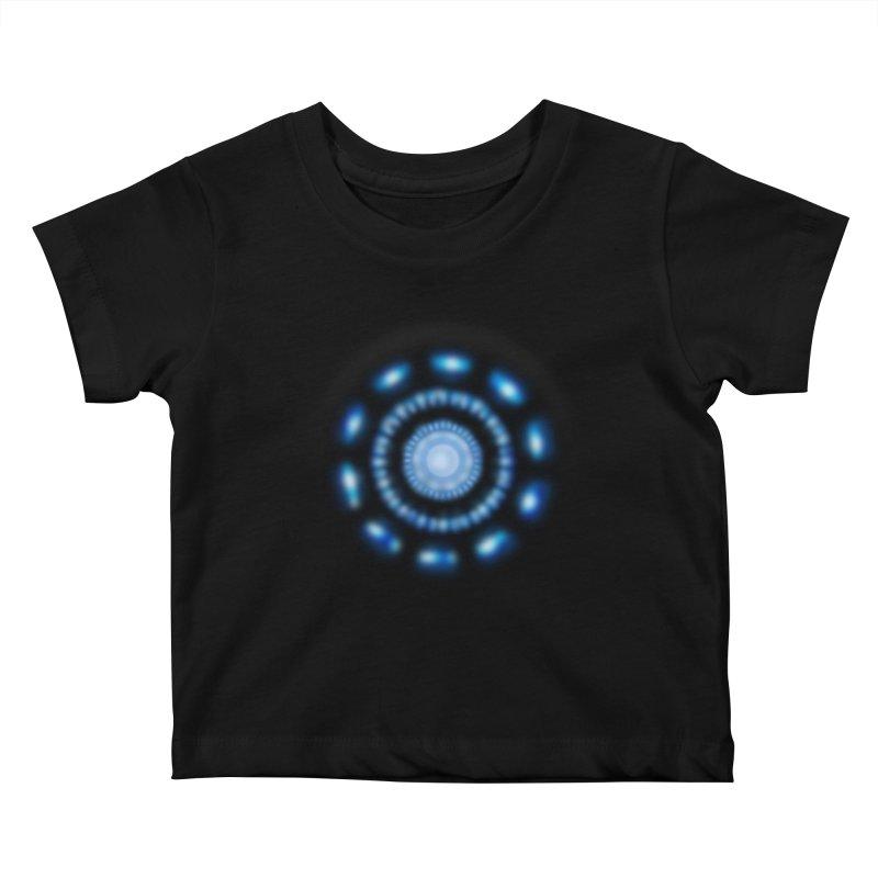 Arc Reactor Kids Baby T-Shirt by Hadeda Creative's Artist Shop