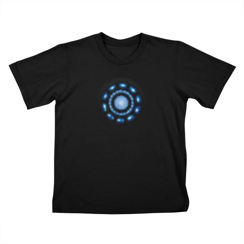 Arc Reactor Kids T-Shirt by Hadeda Creative's Artist Shop