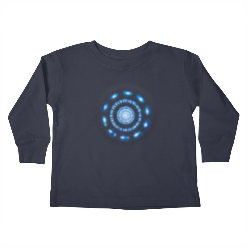 Arc Reactor Kids Toddler Longsleeve T-Shirt by Hadeda Creative's Artist Shop