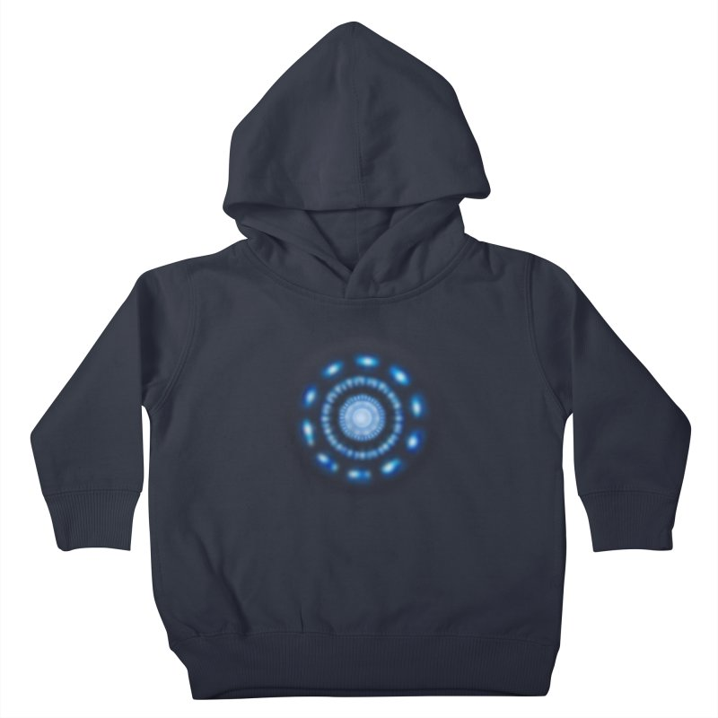 Arc Reactor Kids Toddler Pullover Hoody by Hadeda Creative's Artist Shop