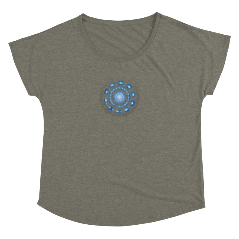 Arc Reactor Women's Dolman Scoop Neck by Hadeda Creative's Artist Shop