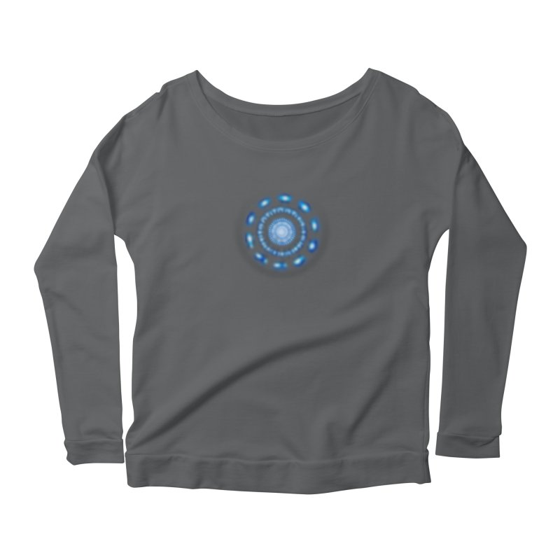 Arc Reactor Women's Scoop Neck Longsleeve T-Shirt by Hadeda Creative's Artist Shop