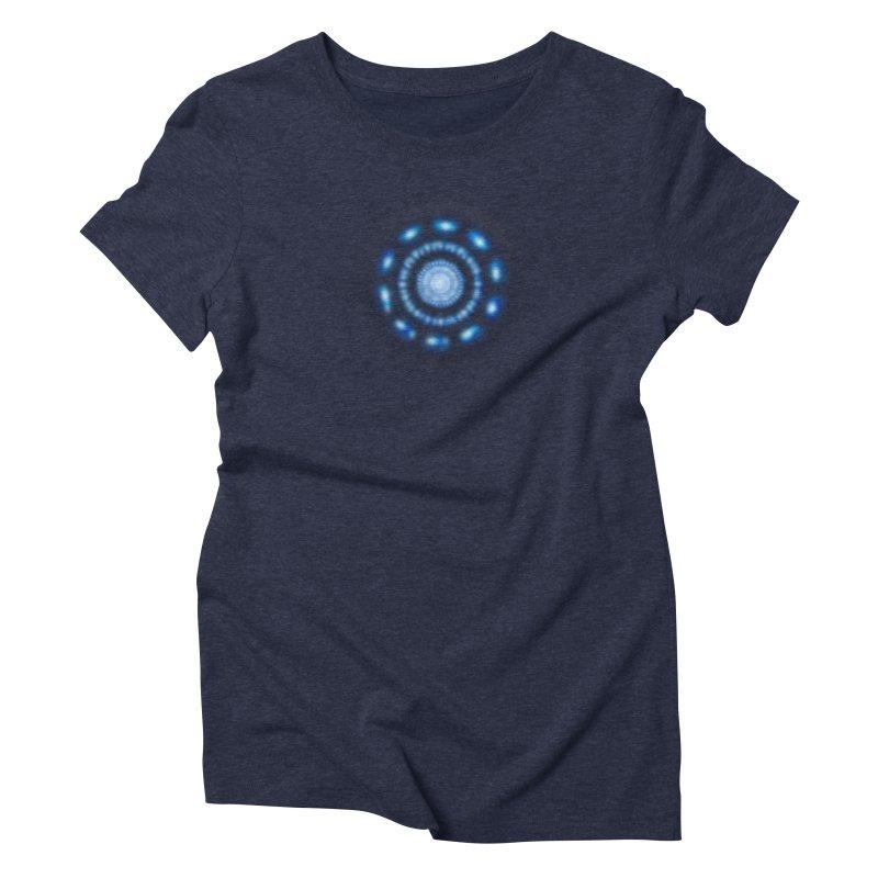 Arc Reactor Women's Triblend T-Shirt by Hadeda Creative's Artist Shop