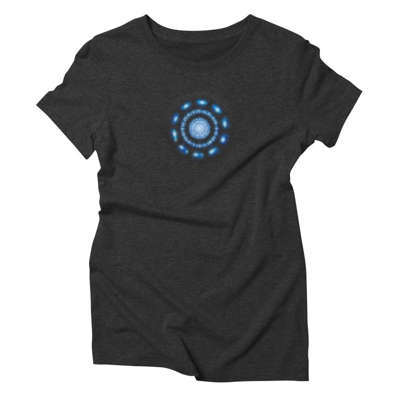 Arc Reactor Women's Triblend T-Shirt by Hadeda Creative's Artist Shop